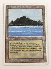 Рон Qu 8,0 magic VIP mtg прокси сбор выборки земли настольная игра мощность девять P9 двойной земли неограниченное пересмотрен