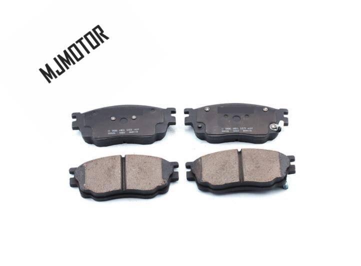 1 paire/kit plaquettes de frein avant set auto voiture PAD KIT-FR frein à disque pour chinois MAZDA 6 FAW Pentium Automobile moteur partie G2YD-33-23Z