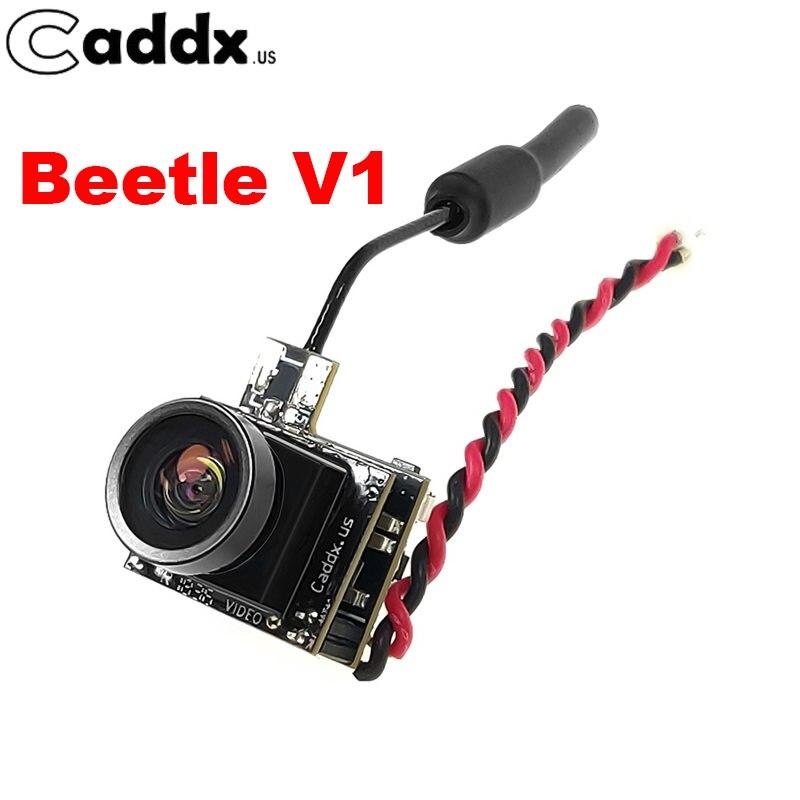 Caddx Beetle V1 800TVL 5.8G 48CH 25mW 1/4 CMOS FOV 170 Degree 4 to 3 NTSC/PAL Mini FPV Camera For RC Drone Frame PartCaddx Beetle V1 800TVL 5.8G 48CH 25mW 1/4 CMOS FOV 170 Degree 4 to 3 NTSC/PAL Mini FPV Camera For RC Drone Frame Part