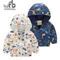 Abrigo Cazadora con capucha animal de la historieta al por menor 2-8 años bebé niños Ropa Ropa Infantil primavera otoño otoño