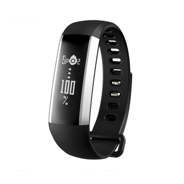 Новый Кровяное Давление монитор Сердечного Ритма Смарт-Браслет Снарт Часы Для Android Быстрая Доставка Feida