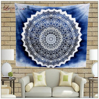 LeRadore Boho Tapestry Wall Hangings Soft Linen Mandala Wall Cloth Beach Towel Table Cloth Picnic Home Decorative Textiles