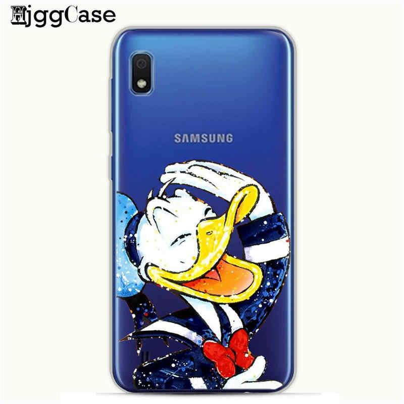 Симпатичные Минни Микки силиконовый чехол для Coque samsung Galaxy A10 A30 A50 задняя крышка для samsung A10 A20 A30 A40 A50 A70 стежка случае
