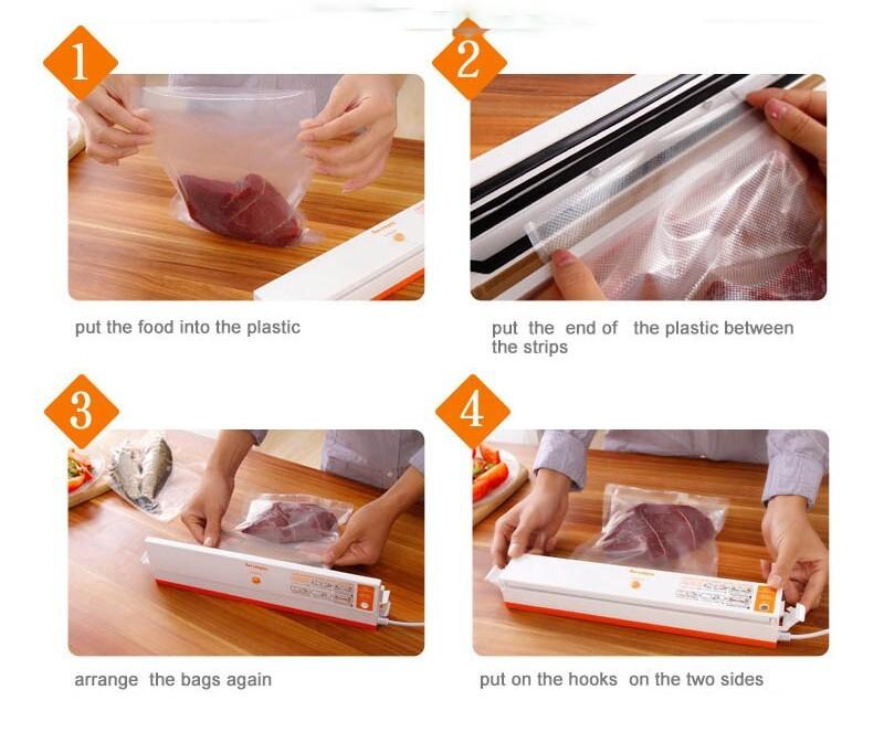 sealer vacuum bags for food Vacuum food sealing machine packing machine packers food vacuum sealer Vacuum packer (7)