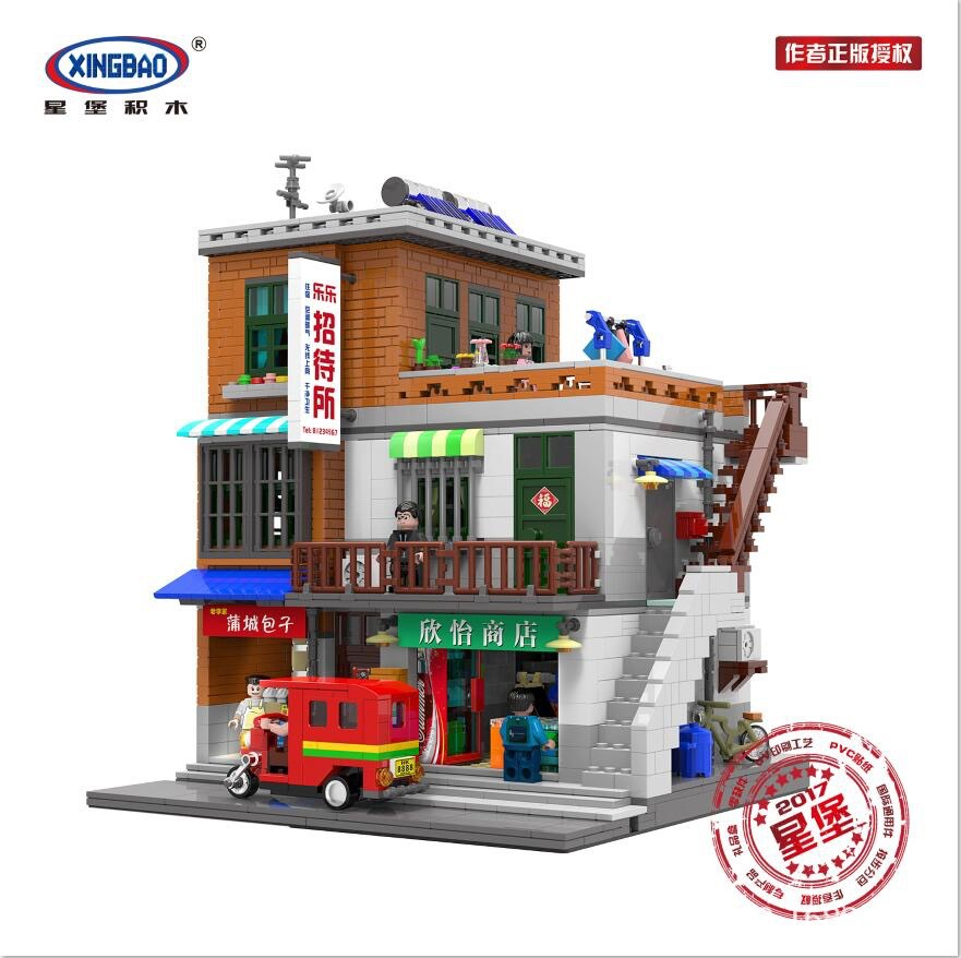 Creator Expert Modular Buildings  Classic Model Collector Blocks City Street View Set Toy For Children Digital building blocks