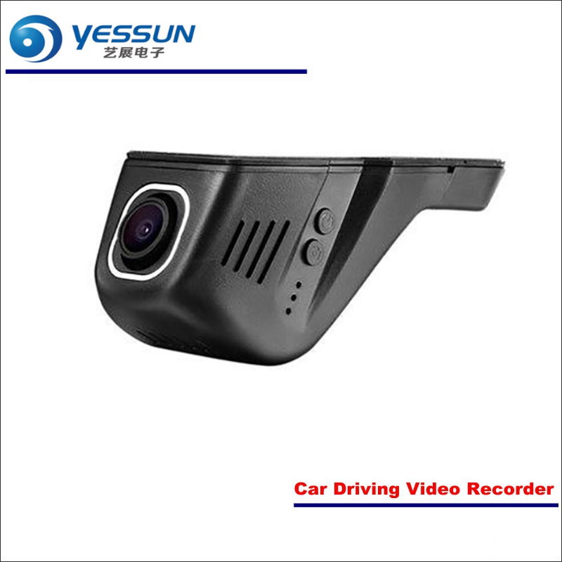 YESSUN Car DVR Driving Video Recorder For Toyota Vios Front Camera Black Box Dash Cam Head Up Plug OEM 1080P WIFI Phone APP