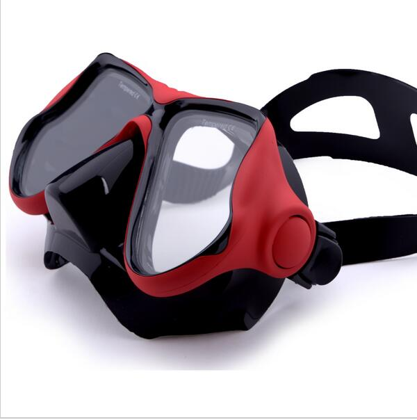 professional diving Mask for scuba dive ,mergulho, silicone googles,mascara de mergulho  ...