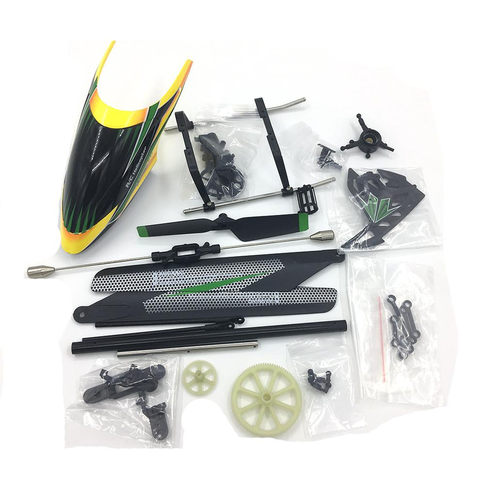 <font><b>WLtoys</b></font> <font><b>V912</b></font> <font><b>RC</b></font> <font><b>Helicopter</b></font> Accessories Bag KV912-001 Remote Control Airplane Part <font><b>RC</b></font> Toys Propellers Cover image
