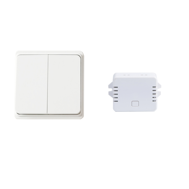 Augia Wireless Switch 2 buttons 1 receiver Waterproof Push Button Switch Wall Light Switch 70m Long Working Range Free Shipping 2 receivers 60 buzzers wireless restaurant buzzer caller table call calling button waiter pager system