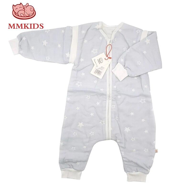 Freundlich Mmkids Neugeborenen Baby Bademantel Pyjamas Baumwolle Separaten Hülse Schlaf Tragen Cartoon Wolke Babys Kinder Schwellen Kleinkind