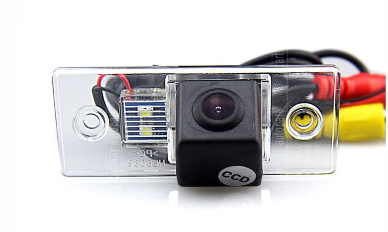 imágenes para Coche del CCD del Rearview cámara trasera especial para Skoda Fabia / Golf Mk 4 / Polo / 3C / Passat / Sharan / Chico / Tiguan / Touareg / Octavia / Fabia