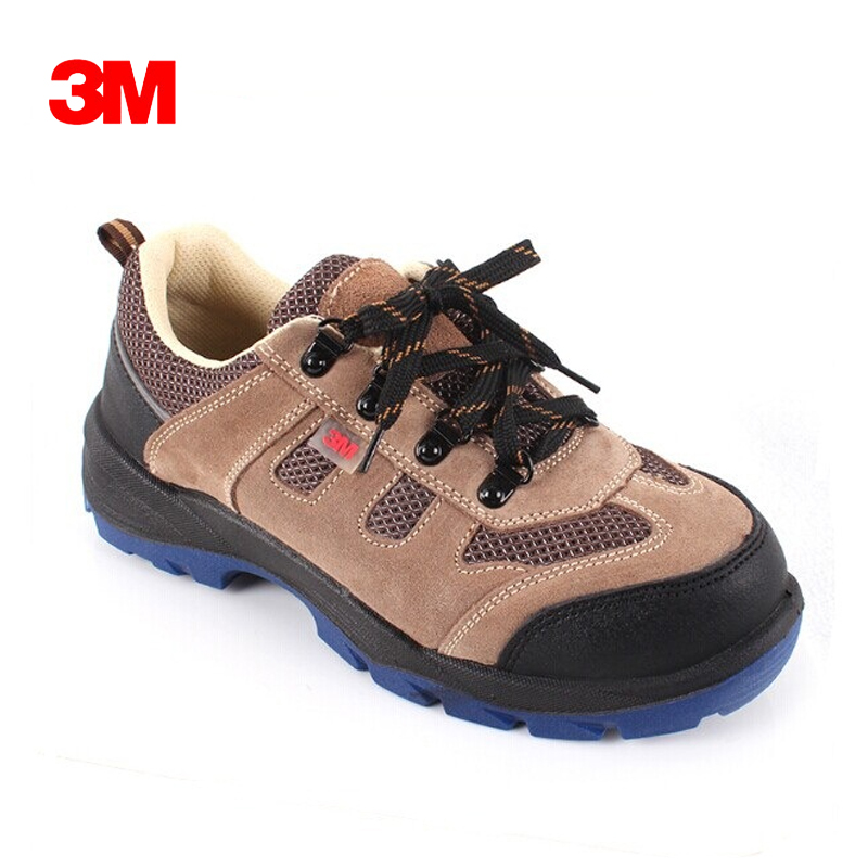 3M 4022 Mens Anti Static Steel Toe Cap work Safety shoe Anti-Smashing Puncture Proof Durable Breathable Protective Footwear air mesh men boots work safety shoes steel toe cap for anti smashing puncture proof durable breathable protective footwear