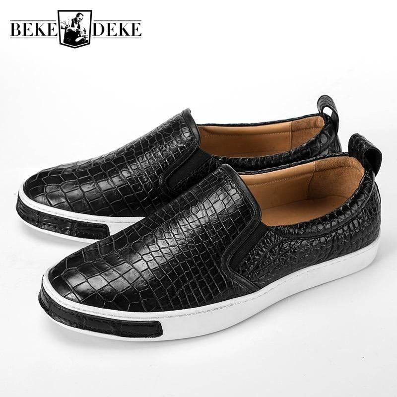 Brand Men Shoes Designer Black Sneakers