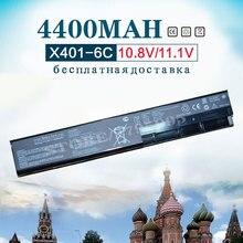 4400mAh New Laptop Battery for Asus A31-X401 A32-X401  A41-X401 A42-X401 F401 F501 F301 S401 S501 S301 X401A X501 X301 original 47wh a31 x401 a41 x401 a32 x401 laptop battery for x301a x301ki235a x301u x401a x501a x301kb815a