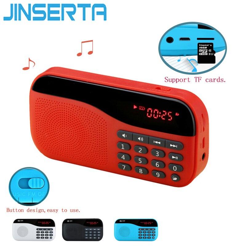 Radio DemüTigen Jinsrtya Tragbare Mini Digital Stereo Fm Radio Lautsprecher Musik Playersupport Tf-karte Für Kinder Und Eltern Und Alte Menschen
