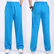 Más tamaño pantalones 6XL sólido Baggy pantalones elásticos flojos  pantalones de algodón Casual pantalon hombre Pantalones e29ff8ffa2d