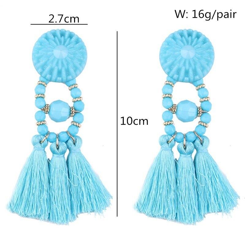 New-Arrivals-Acrylic-Beads-Tassels-Drop-Earrings-For-Women-Girls-Nice-Gift-Fashion-Ear-Jewelry-Dangle
