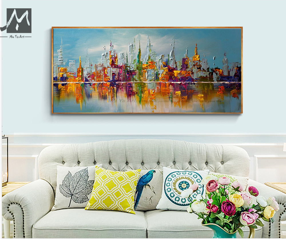Aliexpress Com Buy Hdartisan Wall Canvas Art Pictures: Aliexpress.com : Buy Large Canvas Wall Art Abstract Modern