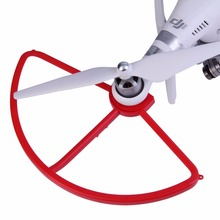 4pcs Snap on Quick Release Propeller Guard Blade Bumper Props Protector for DJI Phantom 3 Phantom 2 Drone Spare Parts Red