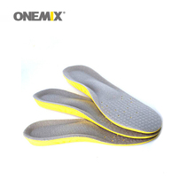 2017 onemix  Men &Women Breathable Sweat Absorbing Insoles Soft Comfortable Athletic Orthotic Insole quick-drying Sport Shoe
