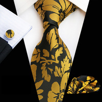 Новый фиолетовый виноградный ЖАККАРД мужской галстук модный джентльмен галстук карман полотенце манжеты 3 комплекта бизнес вышивка цветоч...
