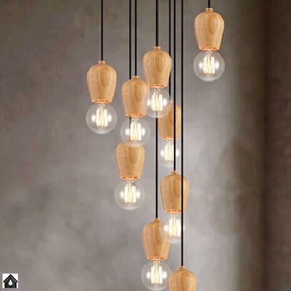 Achetez en gros suspendus douille de lampe en ligne des for Gros luminaire suspendu