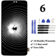 For Oneplus 6 Six LCD Display With Touch Screen Assembly Replacement With Frame For Oneplus 6 Six LCD 1+ With Tools