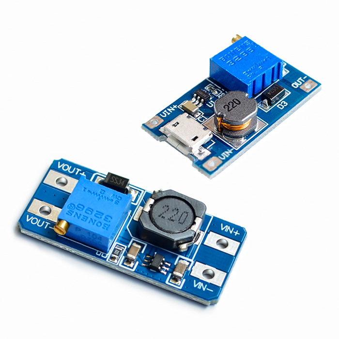 5 pièces/lot MT3608 2A Max DC DC Module dalimentation Booster Module dalimentation pourpower moduledc-dc step upstep up -