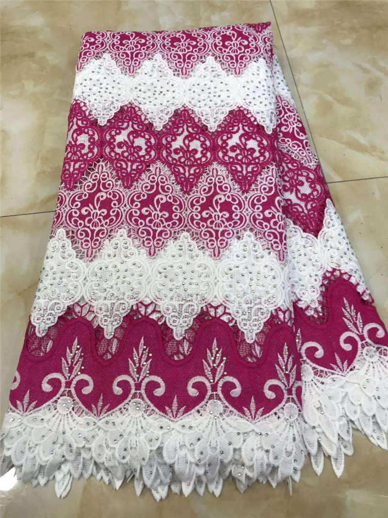 BEAUTIFICAL guipure lace fabrics with rhinestones water soluble laces fabrics african cord laces dress 5yards/lot ML42G17BEAUTIFICAL guipure lace fabrics with rhinestones water soluble laces fabrics african cord laces dress 5yards/lot ML42G17