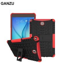 Para Samsung Galaxy Tab 8.0 T350 T351 T355 SM-T355 Pesado Caja de la Tableta Soporte de La Cubierta A Prueba de Golpes deber TPU + PC Shell Protector 8 pulgadas