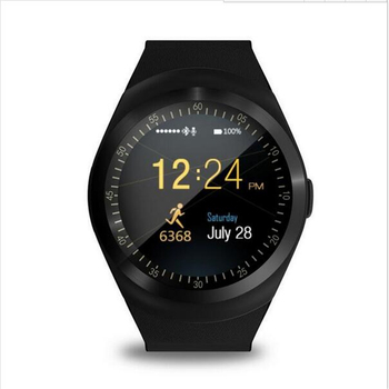 New circle screen Y1 Smart Watch support Nano SIM Card and TF Card With Whatsapp and Facebook & Twitter APP smartwatch on sale meanit m5