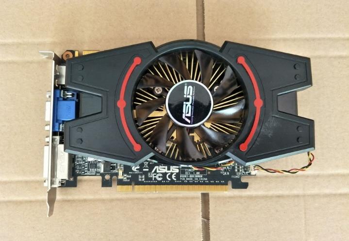 купить Used, original ASUS GTS450 1024M DDR3,100% tested good. онлайн