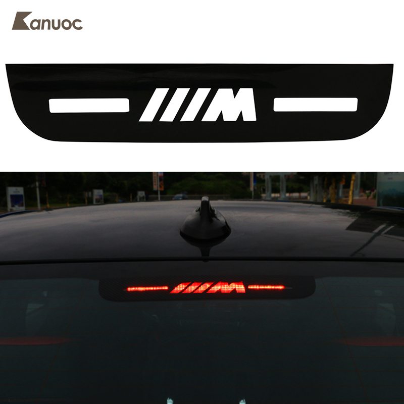 Car brake light sticker decorative cover high mount stop lamp stickers for bmw 3 series e46