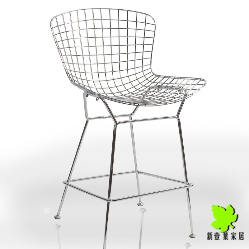 Special Beto de barstool tall stainless steel wire mesh chair upscale casual restaurant bar stool bar