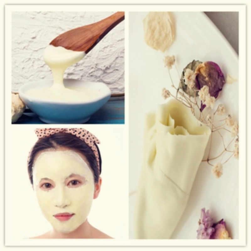 300g Lavender+Chamomile+Collagen+Aloe+Pearl Powder Facial Moisturizing oil control SPA DIY facial  mask soft powder 5pcs sets