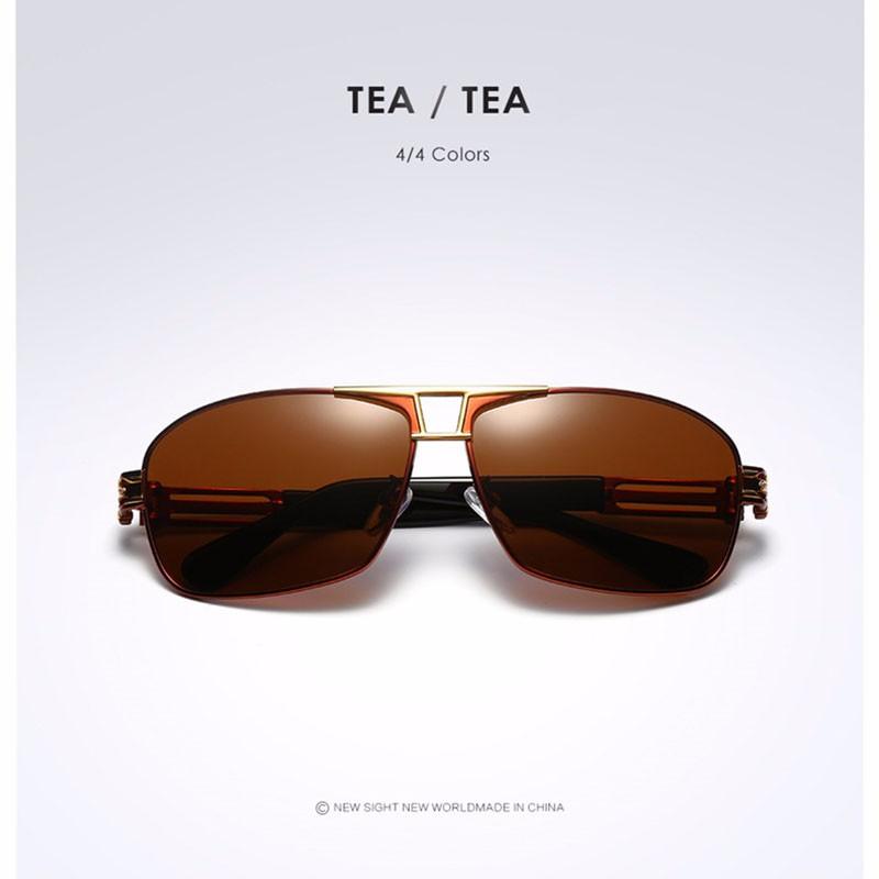 Roupai Polarized Super Cool Military Glasses For Police Driving Mens Square Anti Glare Sunglasses UV400 377 (12)