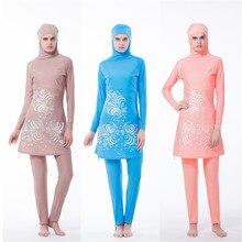 New Muslim swimsuit lady swimsuit Islamic woman beach swimsuit