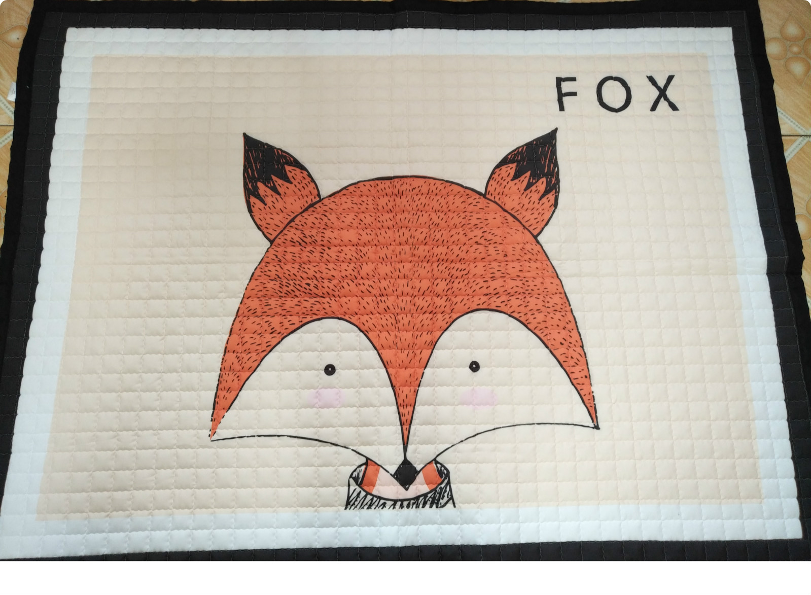 Big Size A little flawed Fox Baby Play Mats Pad Toddler Kids Crawling Blanket 150cm*195cm Carpet Rug Toys Children Room Decor .-in Play Mats from Toys & Hobbies    1