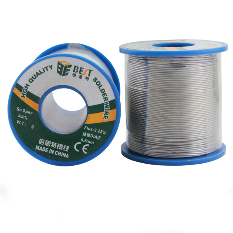 BEST 500g 0.3/0.4/0.5/0.6/0.8/1.0MM Flux 2.25% Melt Rosin Core Wire Tin Lead Solder Wire Sn60/Pb40 For Welding Work