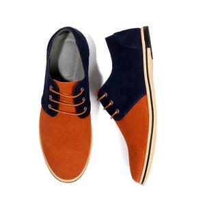 New Style Men Suede Genuine Leather shoes Men Casual Shoes 2018 Fashion  Breathable Men Lace Up Shoes Plus Size 38-50 4e7a94757ba