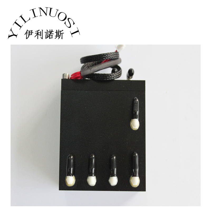 100ml aluminum sub tank with sensor Extension cords printer spare parts hot sale uv flatbed plotter printer spare parts gongzheng gz thunderjet black sub ink tank with level sensor