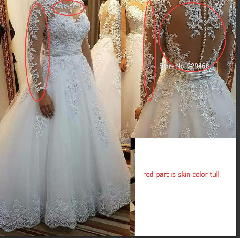 wuzhiyi quality Vestido De Noiva Cap Sleeve wedding dress Vintage Lace robe de mariee Pearls Bridal Gown For mariage trouwjurk