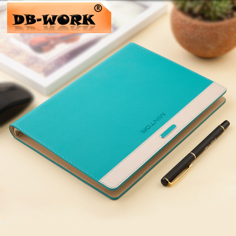 2018 New notepad loose-leaf notebooks High-end business notebook customization More color Leather notepad leather notebook diary loose leaf notebook vintage travel notepad leather notepad customization office school supplies n112
