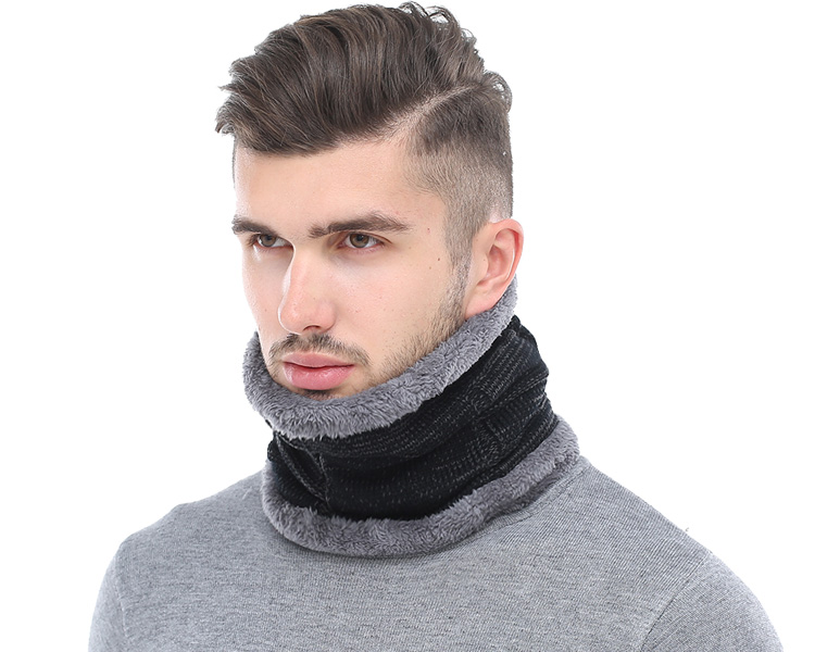 9d6abed92bd AETRUE Fashion Winter Men Scarf Ring Winter Scarves For Men Women ...