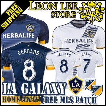 ... in Soccer Jerseys from Sports Source · LA jersey 2015 16 New LA Galaxy  Home away soccer jersey LA Galaxy 6b0179930000f