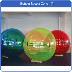 Fabryka cena 2.0m kolorowa nadmuchiwana kula do chodzenia po wodzie nadmuchiwana ludzka piłka chomika dmuchana świecąca piłka do chodzenia po wodzie w Piłki do zabawy od Zabawki i hobby na