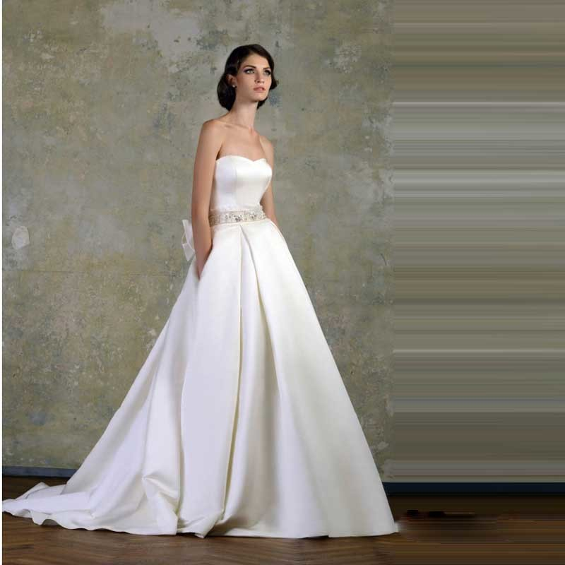 Online Buy Wholesale beautiful simple wedding dresses from China ...