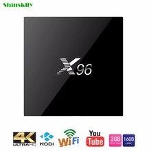 Max X96 Android 6.0 TV Box 2 GB RAM + 16 GB ROM Amlogic S905X Quad Core WIFI HDMI 4 K * 2 K HD Smart Set Top BOX Media Player PK A95X