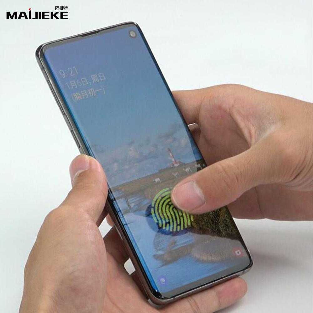 Image 5 - 10D Front+Back Hydrogel Film for Samsung Galaxy S10 plus S10 5G S10e S9 S8 plus Note 10 plus Note 9 8 Nano Full Body Memory Film-in Phone Screen Protectors from Cellphones & Telecommunications on AliExpress