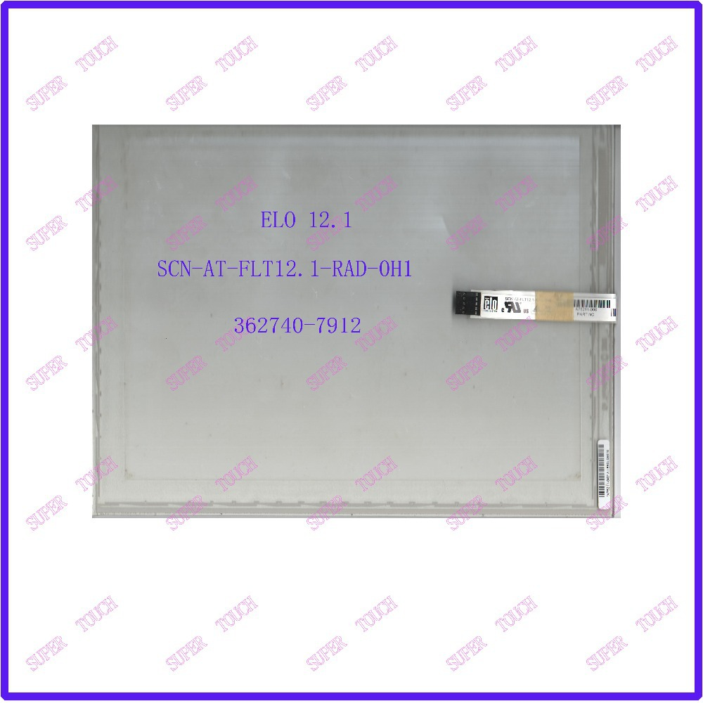 ZhiYuSun 12.1 Inch ELO Touch Screen5 wire resistive USB touch panel overlay kit  SCN-AT-FLT12.1-RAD-0H1 15 elo p n e098279 scn a5 flt15 0 005 0h1 r touchsystems touch screen panel